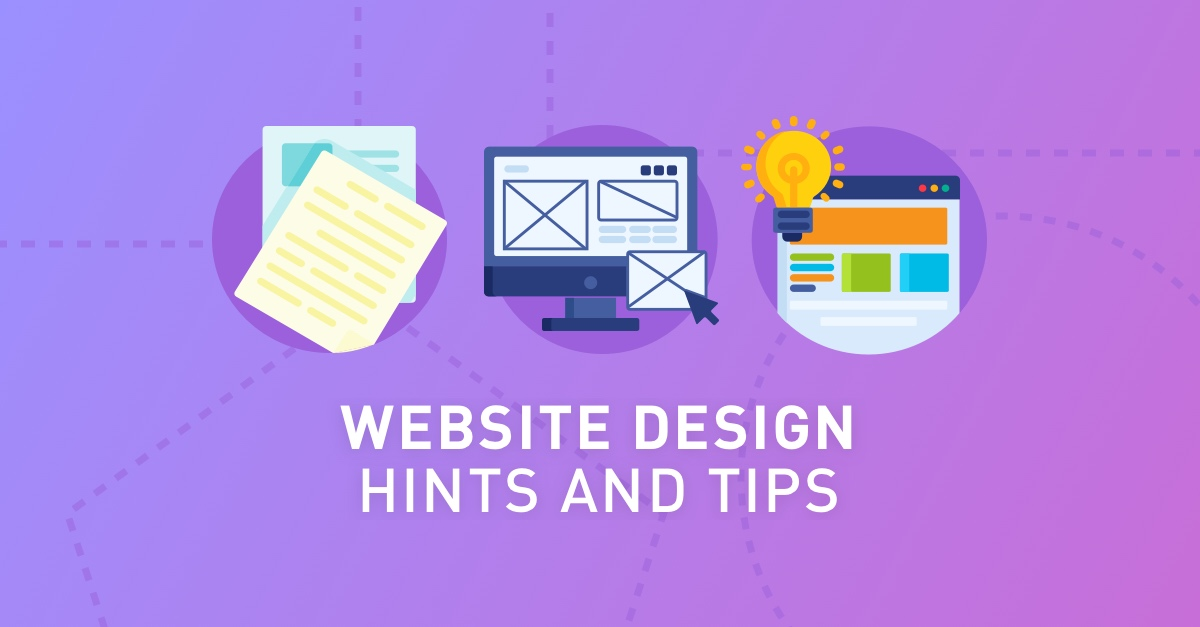 web design hints and tips