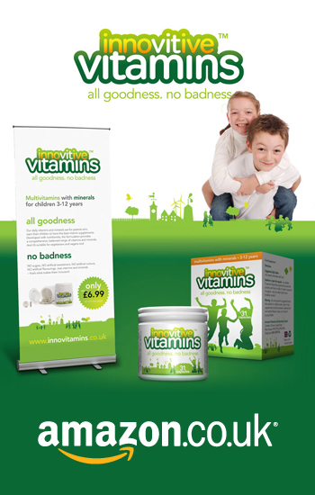 Branding, marketing and website solution for childrens multivitamin...
