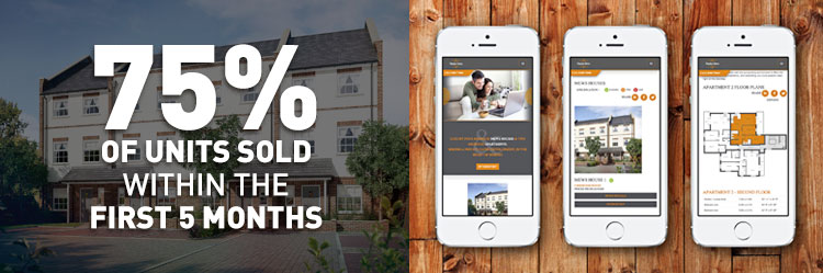 Marketing and responsive website design for property developer