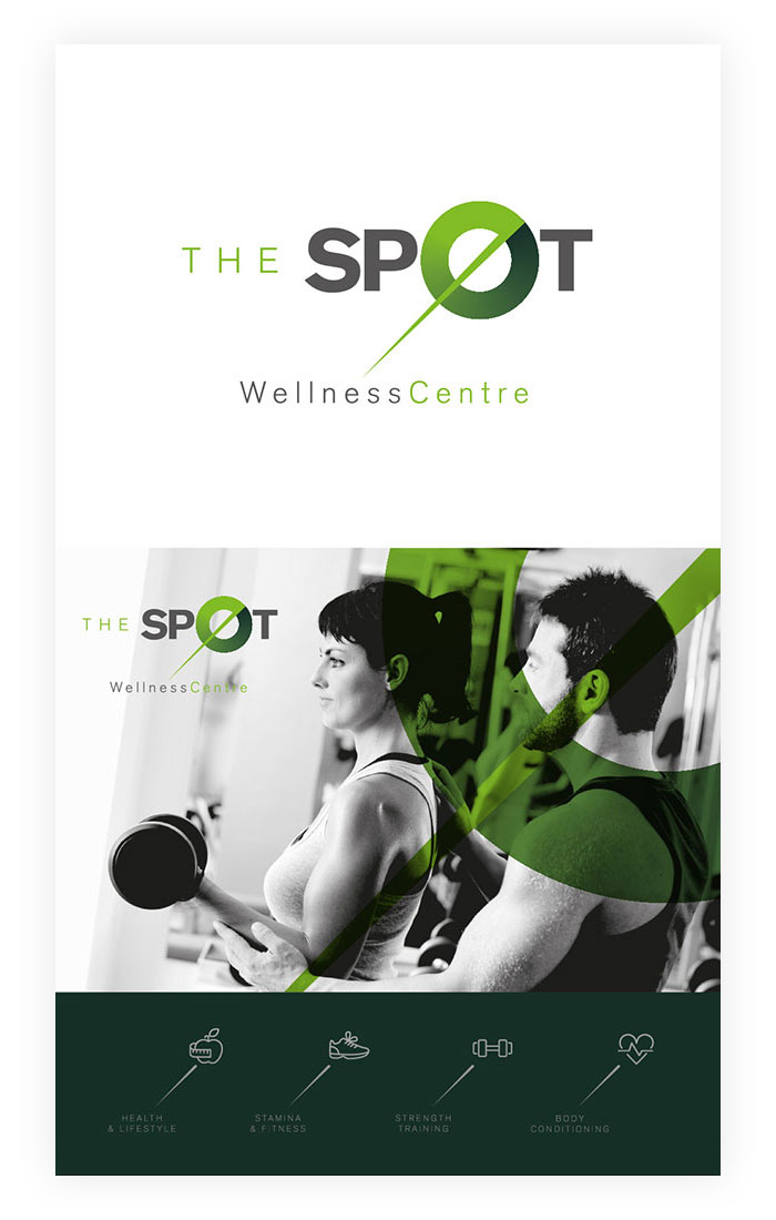 Brand concept design for Gym and fitness studio