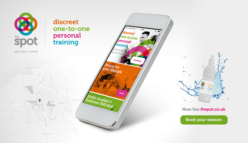 Brand identity and responsive website for gym and wellness centre