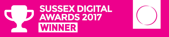 Winner of the Sussex digital awards
